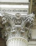 New Sunflower Fleurons for Corinthian capitals, Wellington Arch, Hyde Park Corner. London